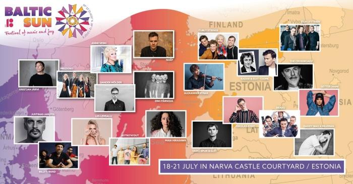 Открытие фестиваля «Baltic Sun» начнется с велопробега и прибытия роскошной яхты в порт Нарвы
