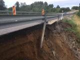 В районе Падаорга может провалиться шоссе Таллинн-Нарва