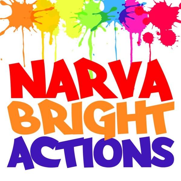 """Инициативная группа """"Narva Bright Actions"""" проводит фотоконкурс под названием «Яркая Нарва»"""