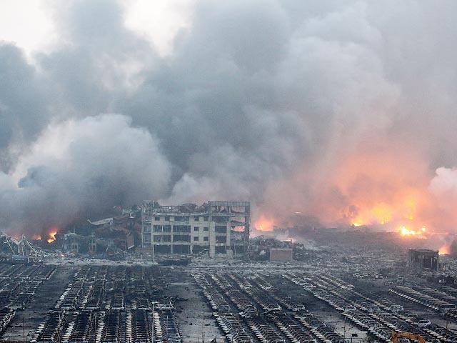 Число жертв взрыва в Китае превысило 40, десятки пропали без вести