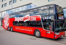 Автобусы Superbus будут курсировать между Таллинном и Нарвой четыре раза в день