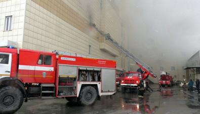 """Охранник рассказал, что в """"Зимней вишне"""" не работали пожарные гидранты"""