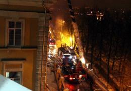 """В Твери дотла сгорела детская больница, где снимали """"Чучело"""""""