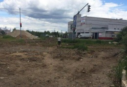 В Ярославле строительство дороги начинается со светофора