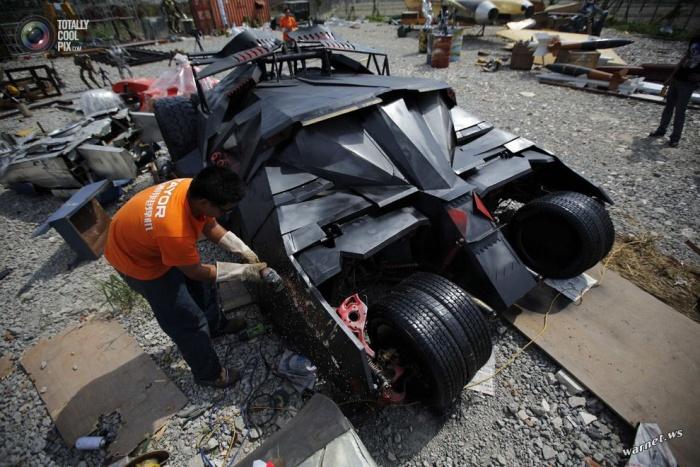Китайцы построили копию Бэтмобиля