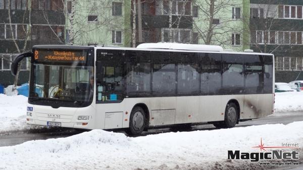 Нарва готова заплатить подрядчику за организацию общественного транспорта 7 000 000 евро