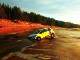 Аренда завершена! На берегу Финского залива бросили прокатный Renault