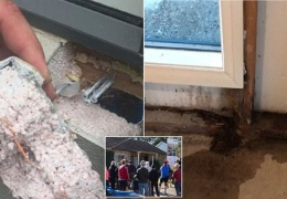 Австралийцы в шоке: подрядчики вместо кирпичей строили дома из пены