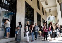 Курс евро падает, финансовый рынок лихорадит. ЕЦБ отказал Греции в продлении финпомощи