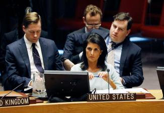 Хейли уточнила, до каких пор КНДР будет под санкциями