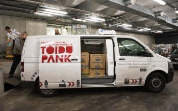 Продуктовый банк просит у Нарвы 10 000 евро на свою деятельность