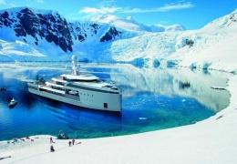 100-метровая яхта, которая способна прорваться сквозь льды Арктики и Антарктики