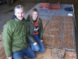 Семейная пара кладоискателей отчиталась о крупной находке