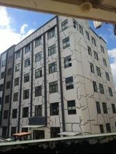 Ремонт общежития в Китае с помощью скотча