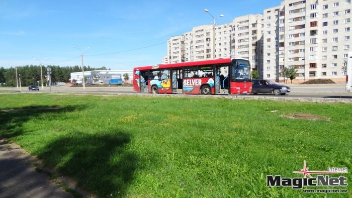 Из-за ремонта улицы Пушкина в Нарве изменяется движение городских автобусов