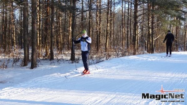 В Нарве впервые пройдет лыжный марафон