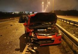 Пострадавшая в ДТП на шоссе Таллинн-Тарту 24-летняя женщина скончалась в больнице