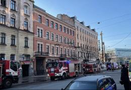 При пожаре в хостеле в центре Риги погибли 8 человек