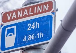 С нового года Таллинн повысит стоимость парковки на 25-60%