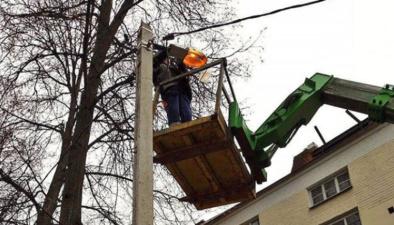 В Нарве к 2021 году обновят систему уличного освещения