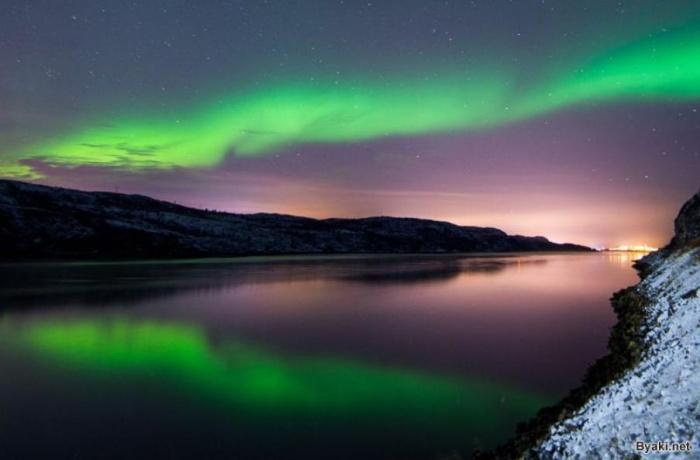 Красивые фотографии северного сияния