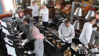 В православном храме Нарвы звучала музыка Баха, Шопена, Чайковского...