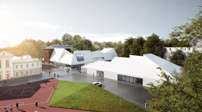 ФОТО: определен победитель архитектурного конкурса здания Эстонской гимназии в Нарве