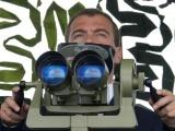 Дмитрий Анатольевич на базе под Новороссийском с инспекцией побывал, посмотрел на новые виды вооружения, потрогал, стрельнул..