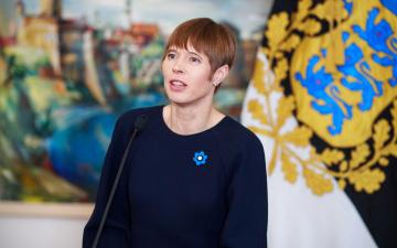 Кальюлайд - Трампу: Соединенные Штаты всегда могут положиться на Эстонию