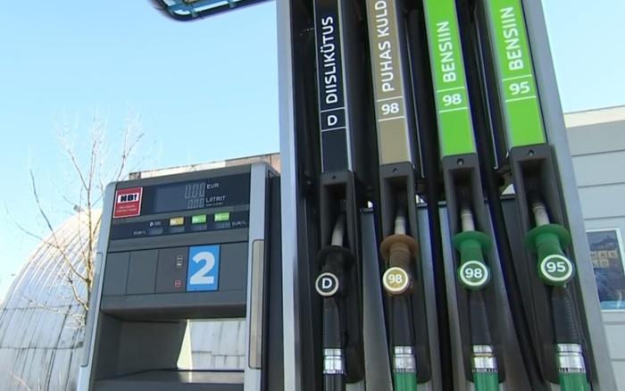 Бензин на эстонских заправках может подорожать уже к следующей неделе
