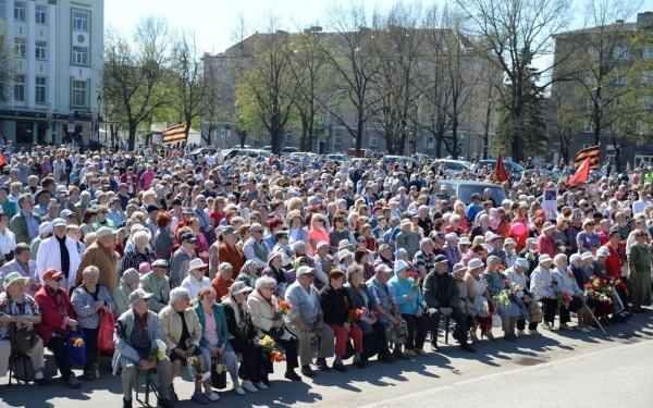 В Нарве и Силламяэ 9 мая отмечают шествием и концертами