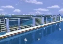 """В США вернулись к идее строительства первого """"дрейфующего города"""": на Freedom Ship нужно 10 млрд долларов"""
