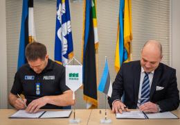 Подписан договор о строительстве границы на юго-востоке Эстонии