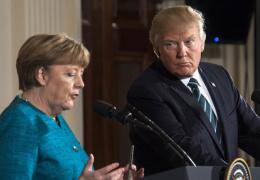 CNN: Трамп пытался узнать у Меркель, как иметь дело с Путиным