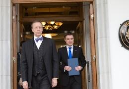 Президент Ильвес и премьер Рыйвас осудили поджог центра для беженцев в Вао