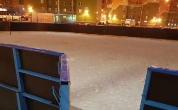 Хоккейная коробка для детей Санкт-Петербурга