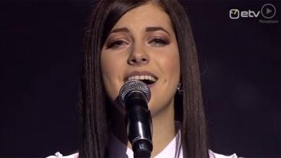 """На """"Евровидение-2013"""" от Эстонии поедет Биргит Ыйгемеэль"""