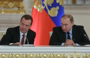 Жириновский рассмешил Путина и Медведева