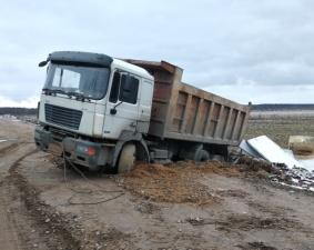 """Водители не оставили безнаказанным """"вывоз"""" строительного мусора"""