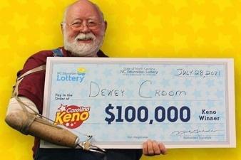 Житель Каролины во второй раз сорвал джек-пот в лотерее