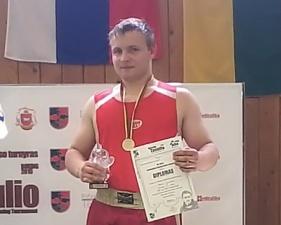 Победитель турнира АИБА - Денис Лайдонер