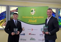 Нарвитян Ивана Новицкого и Антона Праткунаса наградили за успехи в спорте
