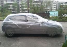 """Упаковал"" автомобиль перед отпуском"