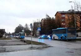 Стрелявшего по автобусам в Кохтла-Ярве 17-летнего молодого человека арестовали