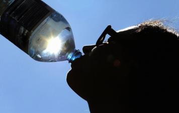 В установившуюся жару жители Эстонии активно покупают воду, мороженое и лед