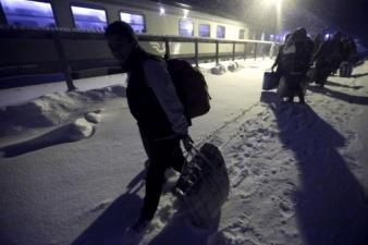 Евростат: число беженцев в Финляндии выросло на 822 %