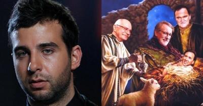 Активисты потребовали лишить российского гражданства Ивана Урганта из-за пародийной картинки на Христа