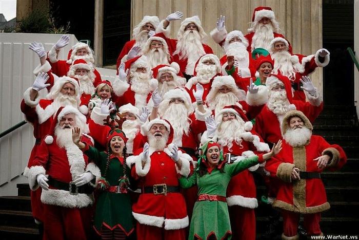 Школа повышения квалификации для профессиональных Санта Клаусов