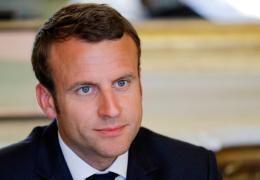 Макрон позвонил, чтобы поздравить Путина, первым из европейских лидеров