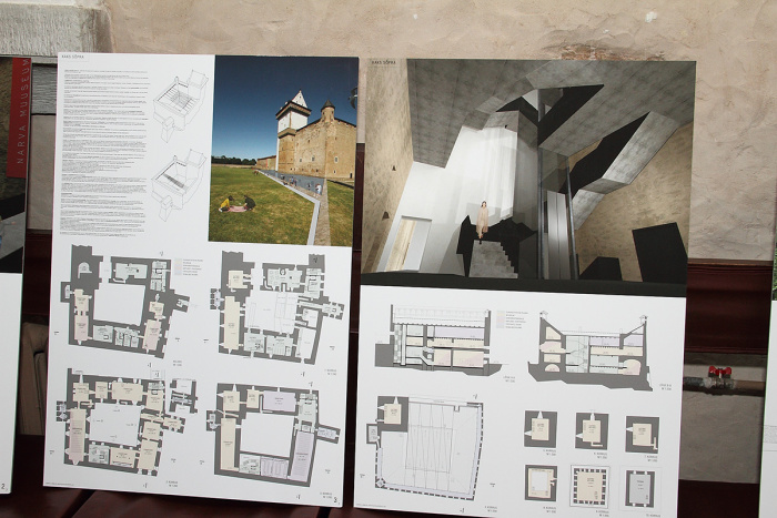 В Нарвском замке появятся современные сооружения
